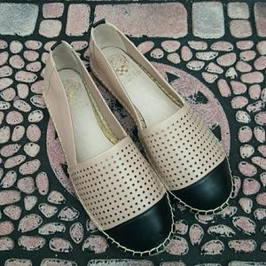 NWOT Vince Camuto Dandee Espadrille Leather flats